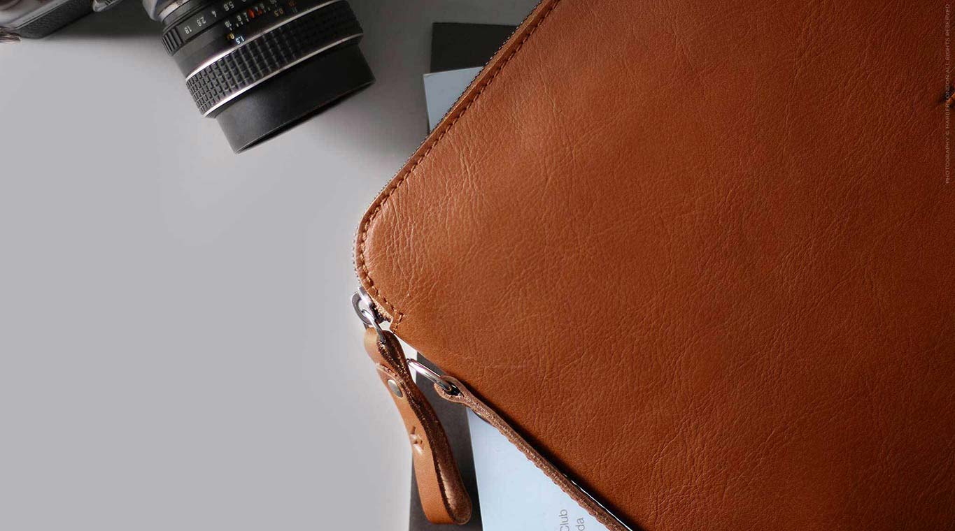 leather organiser