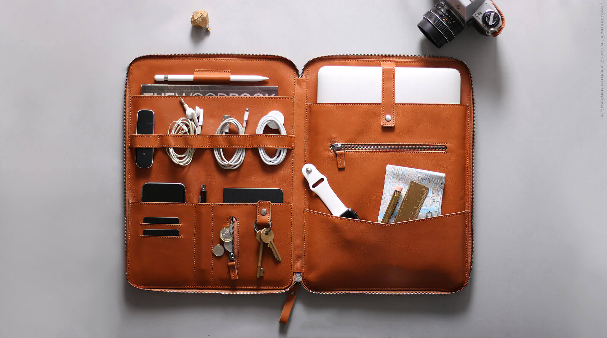 Personal Leather Organiser