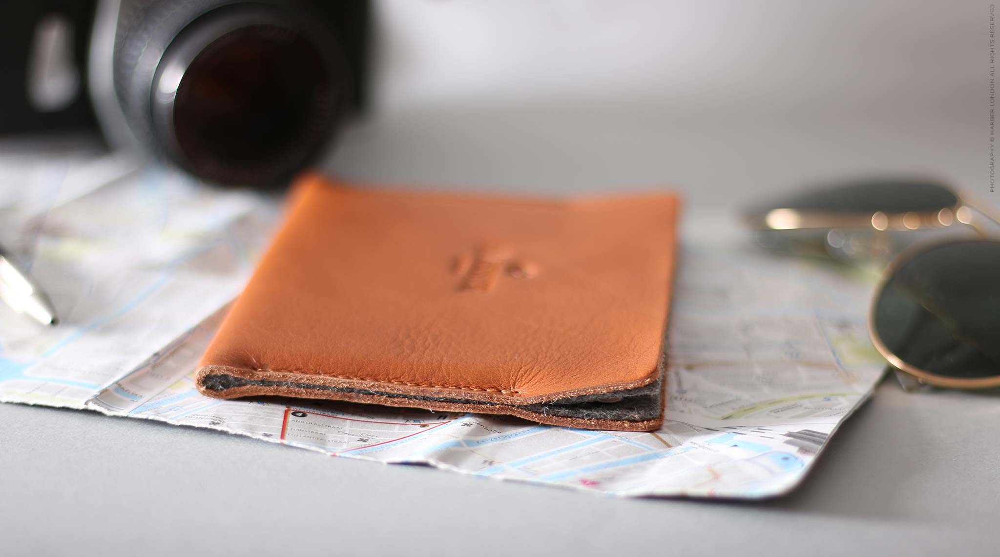 Leather Passport Holder For Men