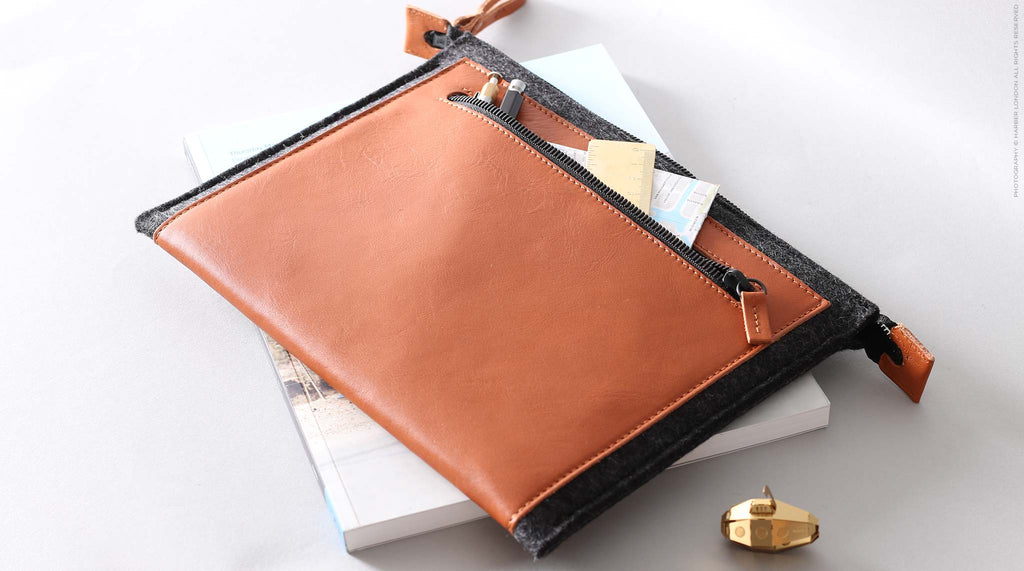 Harber London Folio iPad Sleeve