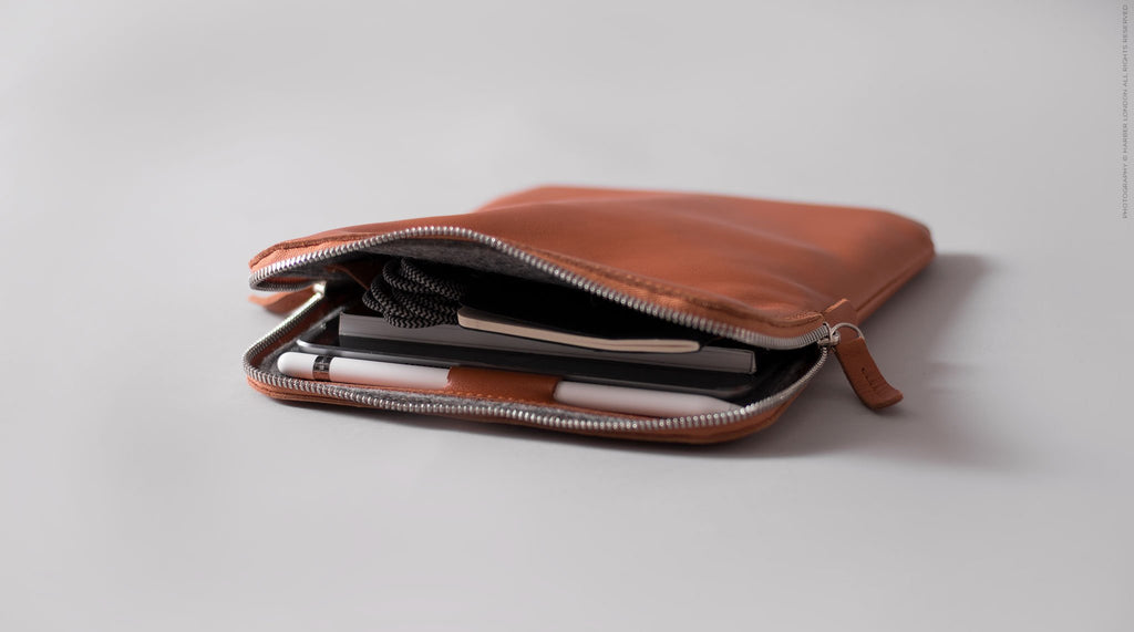 Harber London - iPad Leather Sleeve