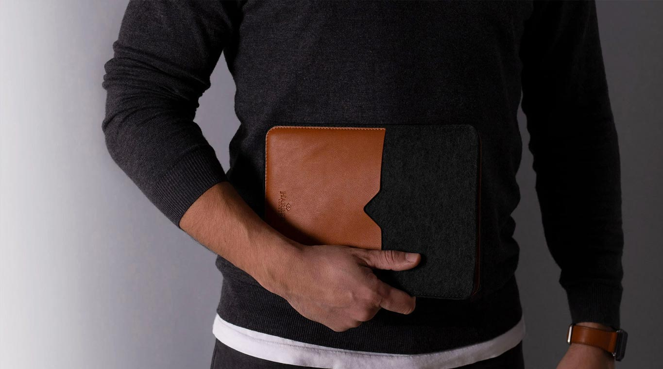 Harber London Black IPad Case Designed In UK