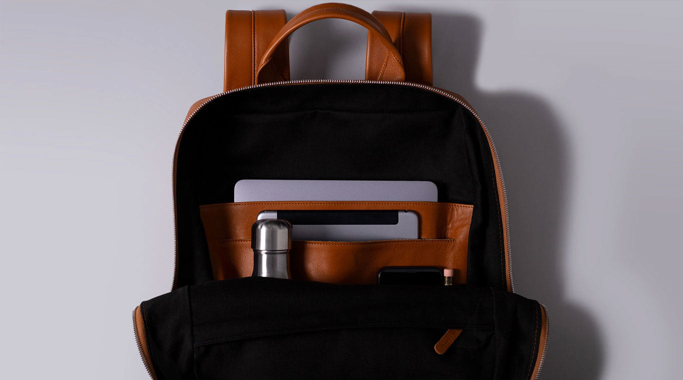 "Our City Backpack Is Designed To Fit Most 16"", 15"" And 13"" Laptops"