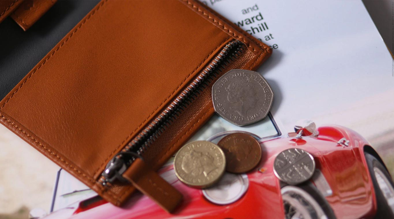 Zip Wallet With RFID Protection
