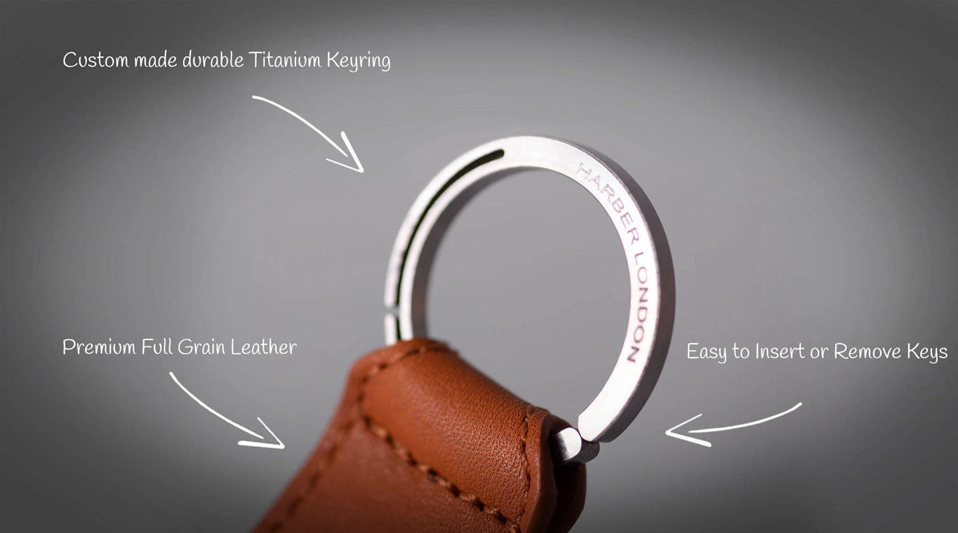 Real Leather Key Holder