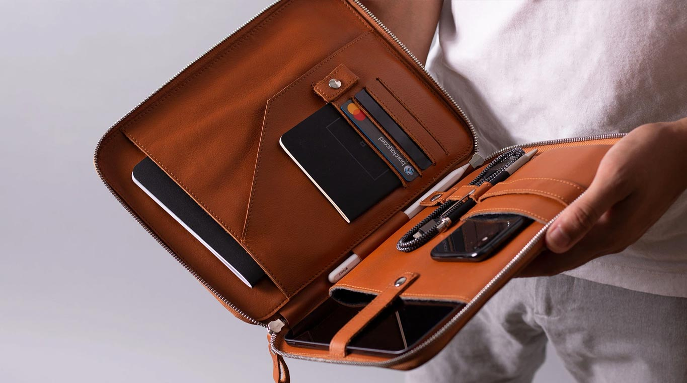 ipad organiser bag