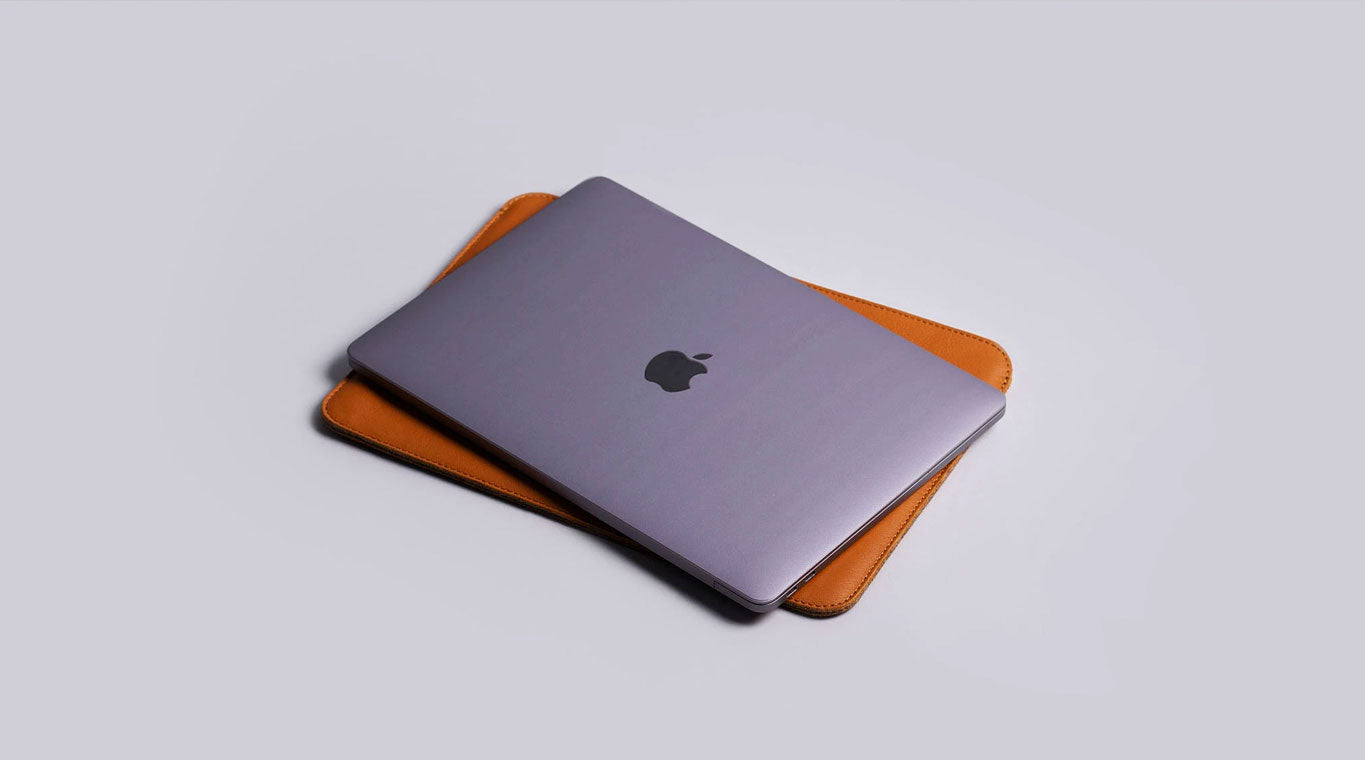 Etui Macbook en cuir le plus fin