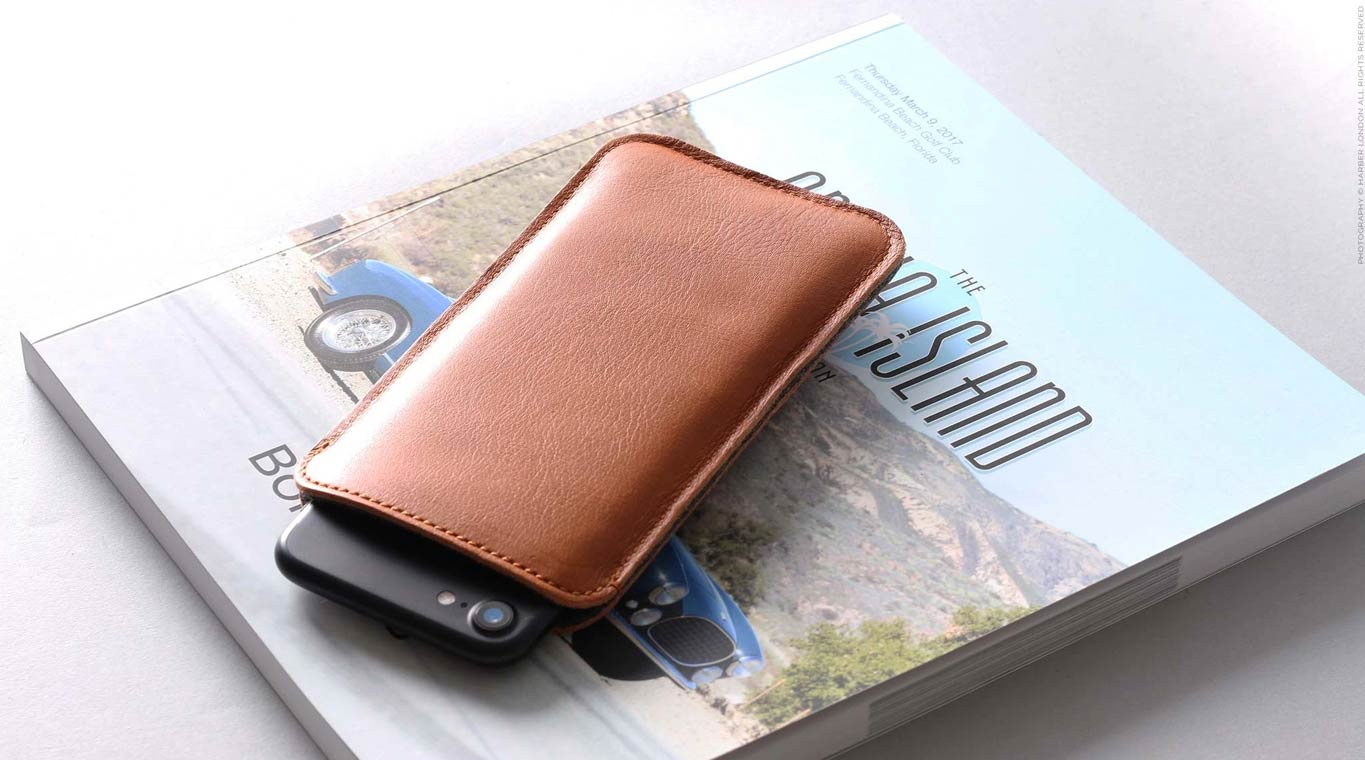 Slim Phone Sleeve With Pocket