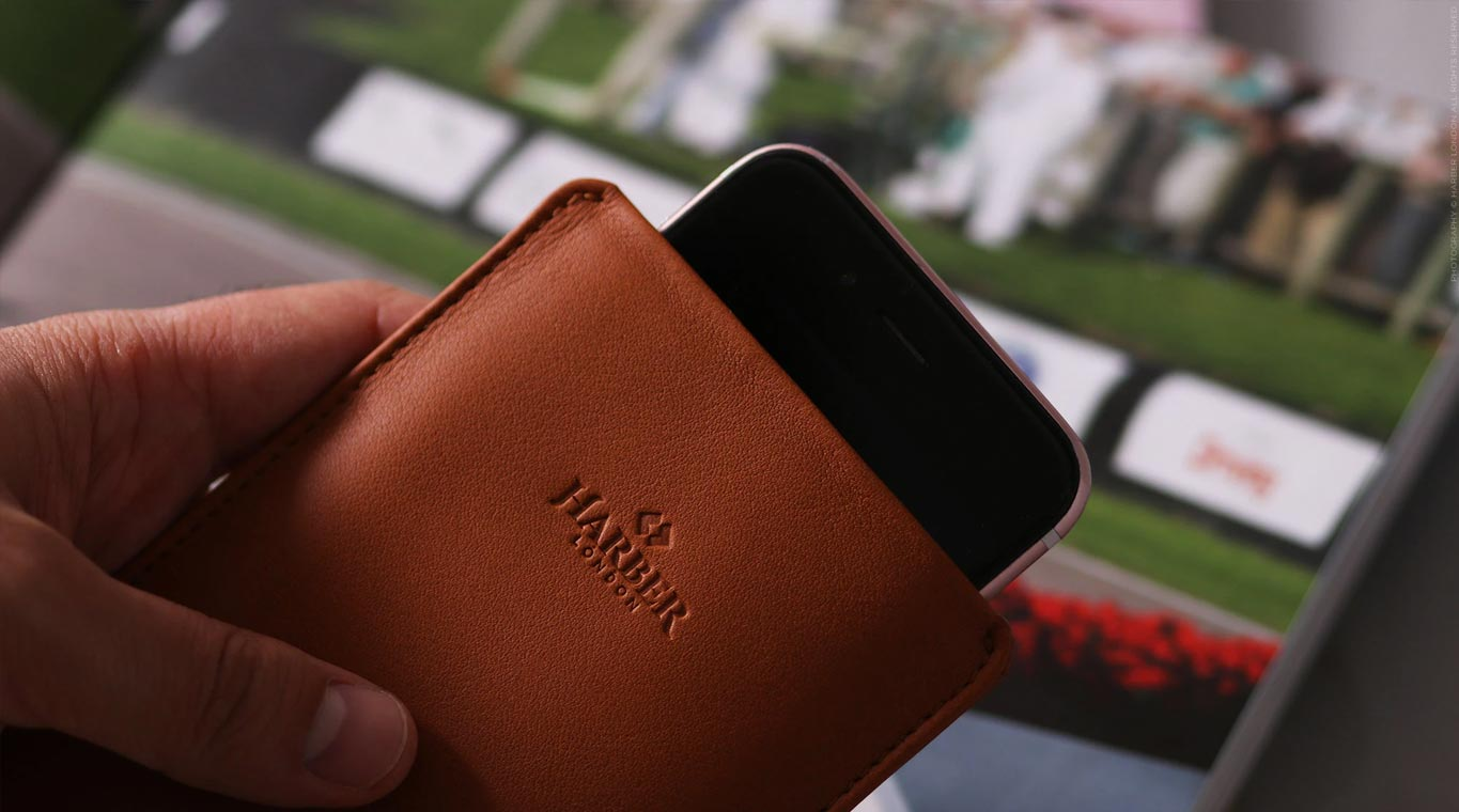 IPhone Pull Sleeve Case Designed In UK