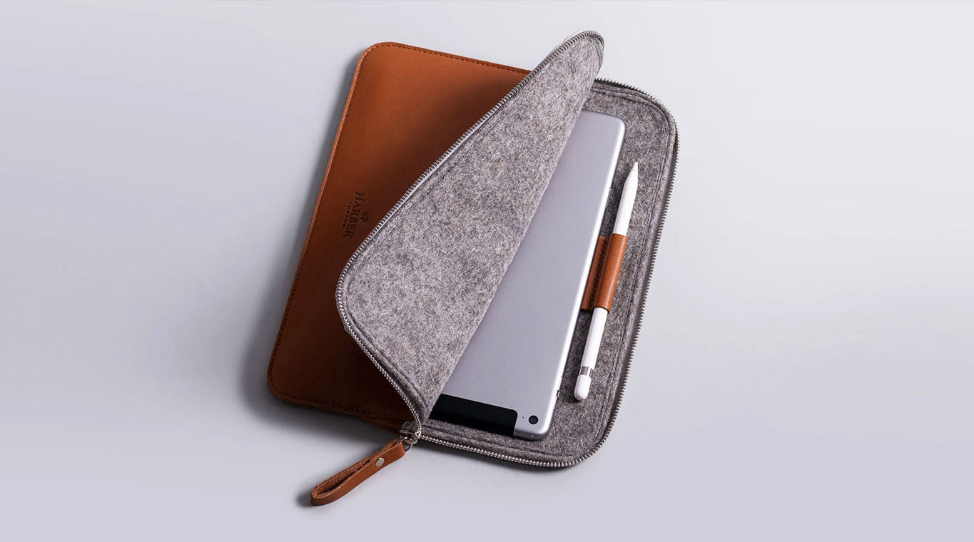 ipad leather sleeve