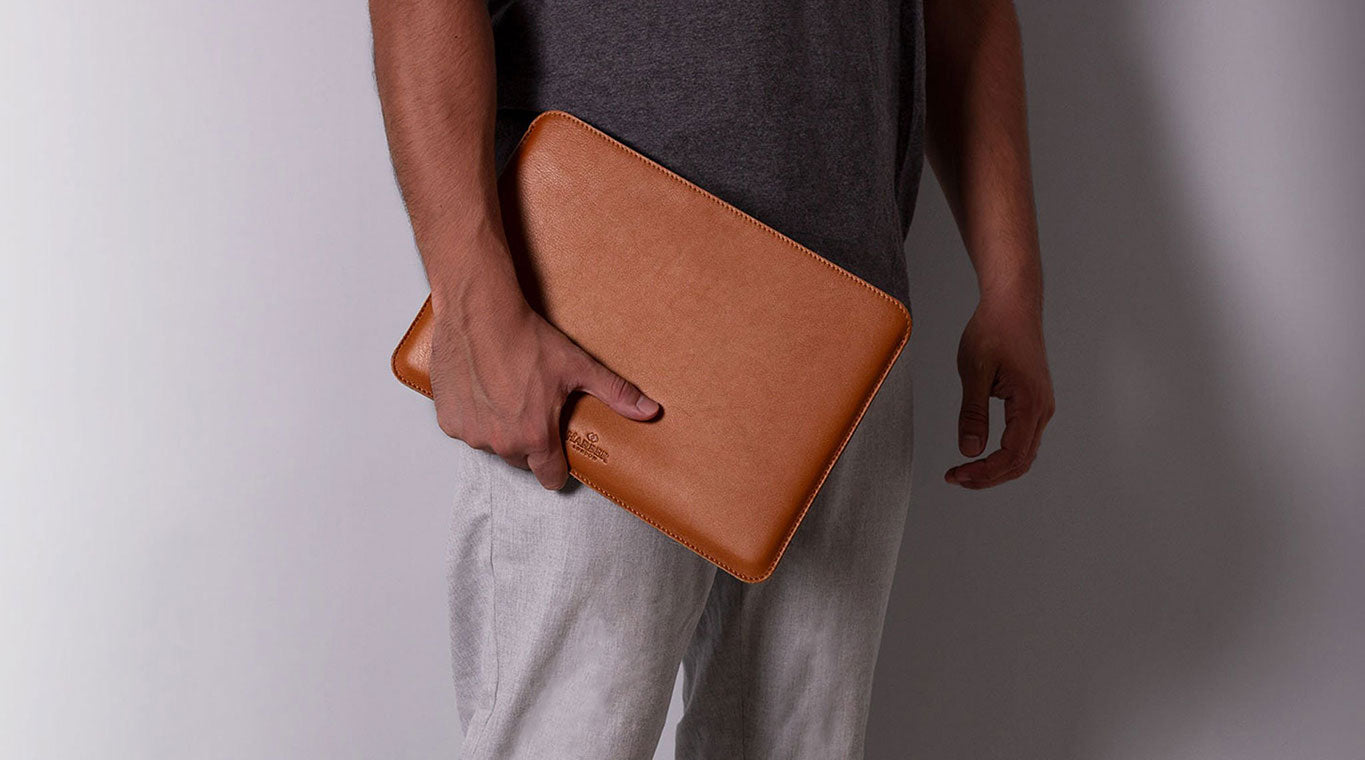 laptop leather case