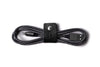 Black Leather Cable Organiser