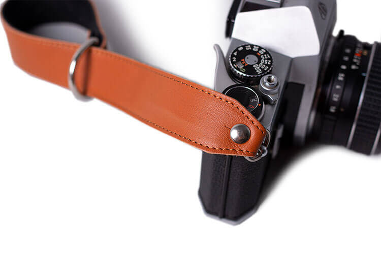 Leather Slide Camera Wrist Strap