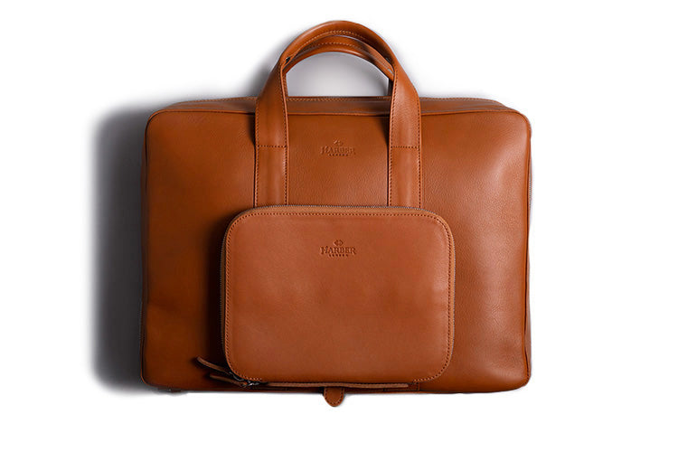 Leather Work Briefcase