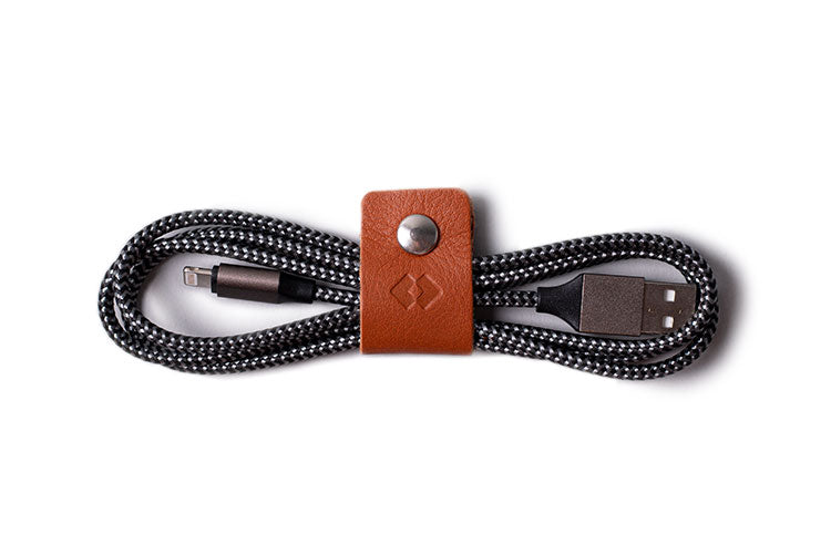 Leather Cable Ties - Pack Organiser