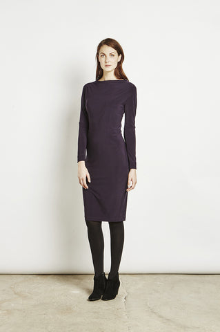 Carin - Tunic Dress - Bordeaux