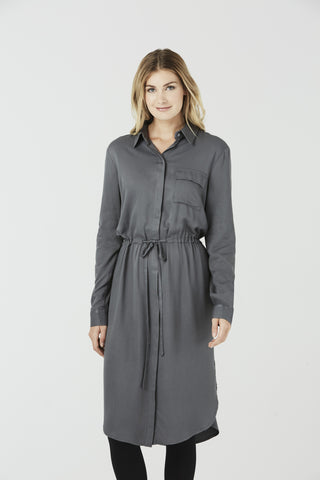 Clemence - Shirt Dress - Navy