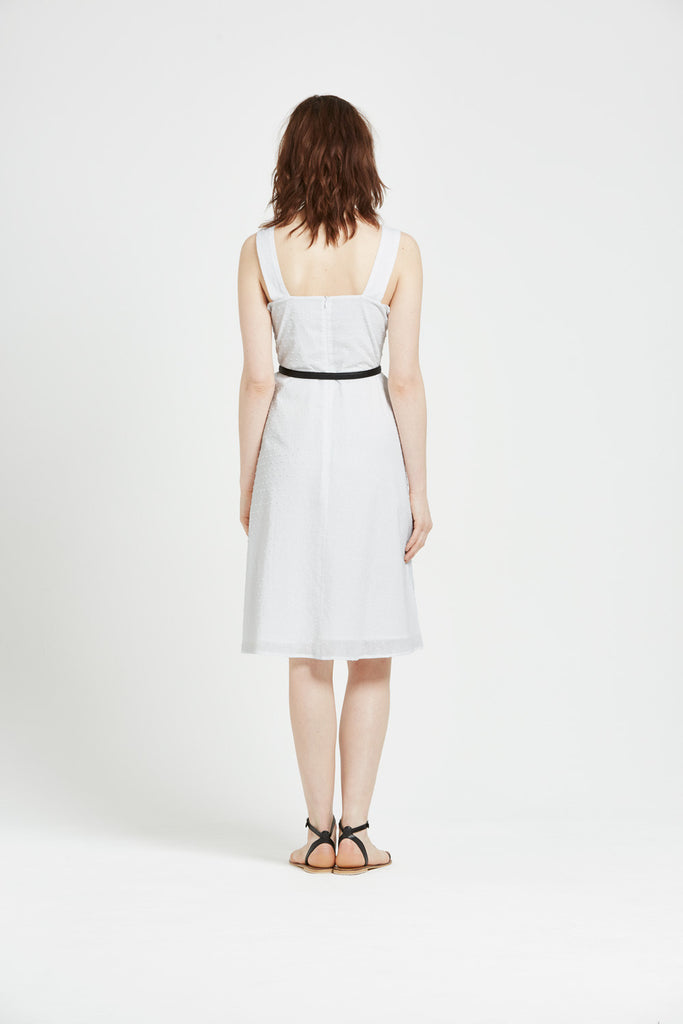 Belle - Sundress - White