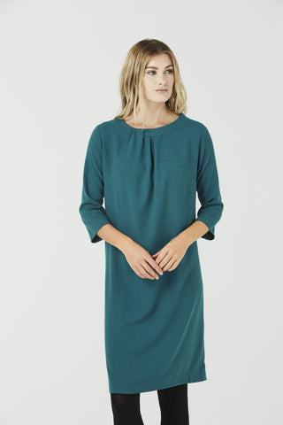 Beatrice - Shirt Dress Halo Blue