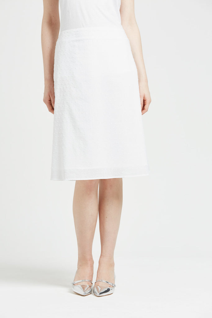 Brea - skirt - white