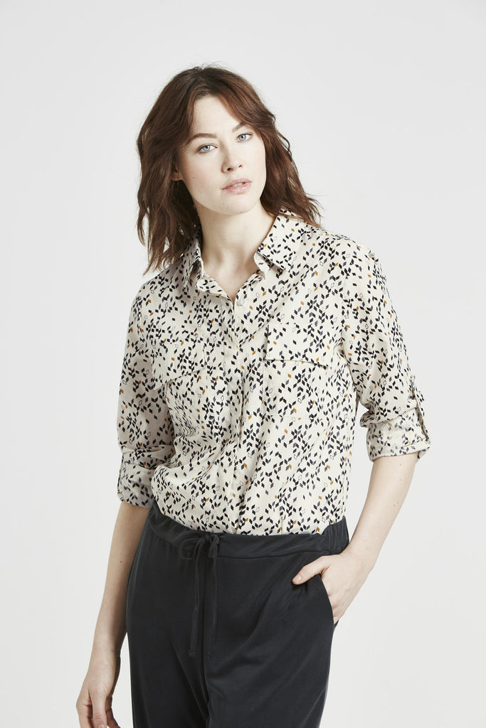 Bess - Blouse - Twisted Mustard