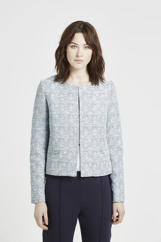 Benita Tailored Jacket - Dusty Pink