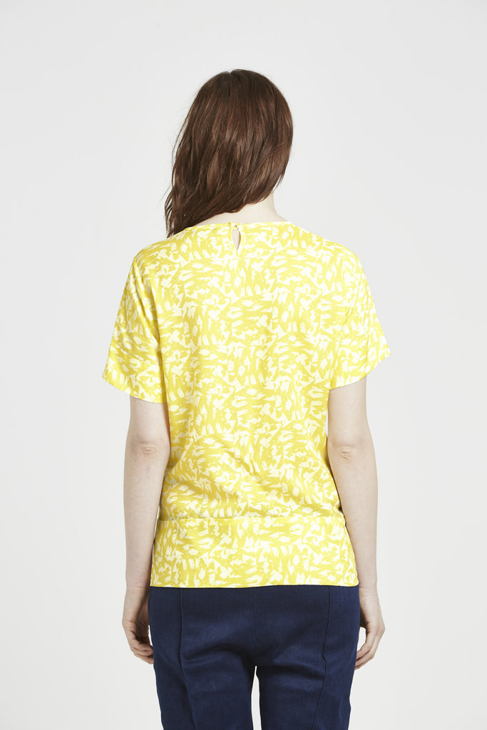 Brier - Short sleeve top - Yellow