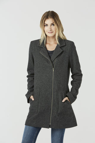 Bob - Collarless Jacket
