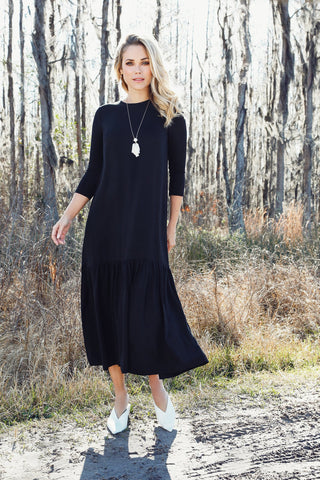 Prairie Dress- Black