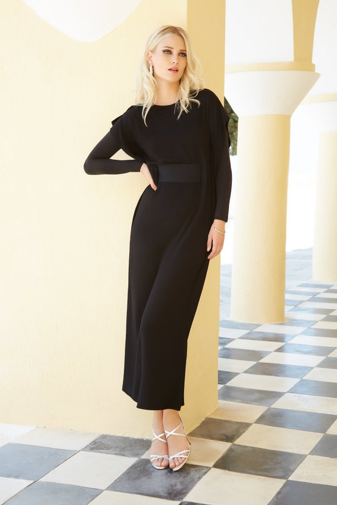 Sleeveless Maxi With Belt
