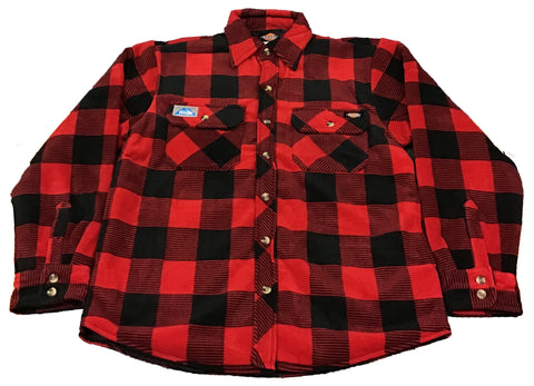 Men's Red Plaid Jacket
