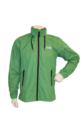 Men's Green Waterproof Jacket