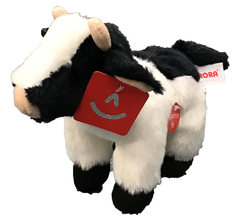 Noise Making Plush Cow