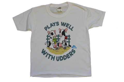 "Youth ""Plays Well With Udders"" T-shirt"