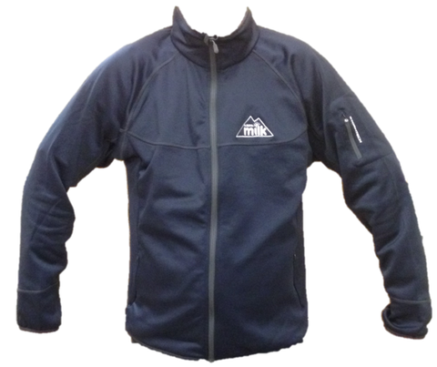 Men's Navy Blue Fleece Jacket