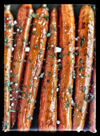 1# of Roasted Carrots