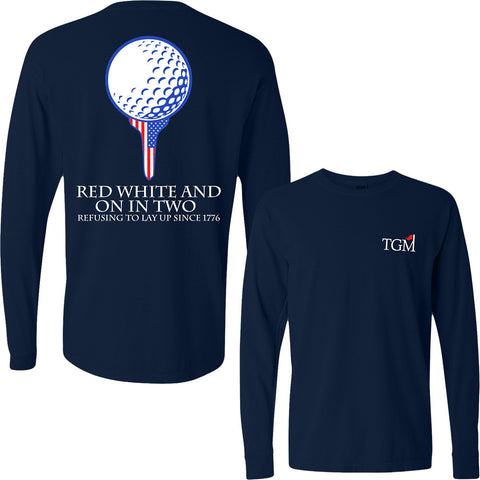 Long Sleeve - On in Two - Deep Navy