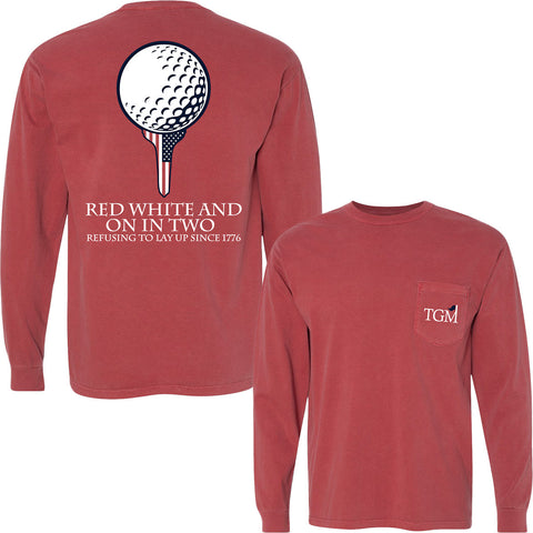 Long Sleeve - On in Two - Brick
