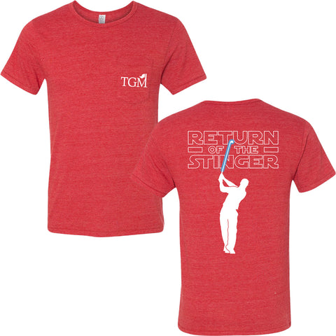 -*CLOSEOUT* Return of the Stinger - Pocket - The Super Light Triblend Tee