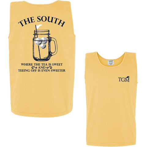 **Closeout** XL Sweet Tee - Comfort Colors Tank in Butter