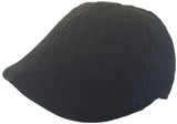 100% Cotton Duckbilll Pub Cap Textured Basket Weave Driver Hat
