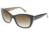 Tres Noir Optics Petrillo Large Cat Eye Sunglasses