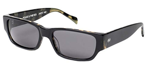 Tres Noir Men's Police and Thieves Sunglasses