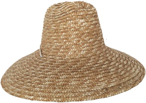 Super Wide Brim Lifeguard Hat Straw Beach Big