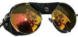 Road Vision Round Lens Motorcycle Sunglasses Steampunk Cycling