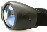 Road Vision Small Round Goggles Burning Moto
