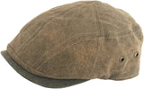 Stetson Weathered Cotton Ivy Cap Scally Modern Cut Driver Newsboy Hat
