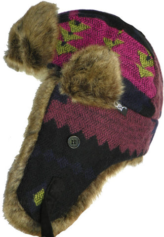 D&Y New York Navajo Aviator Trooper Hat