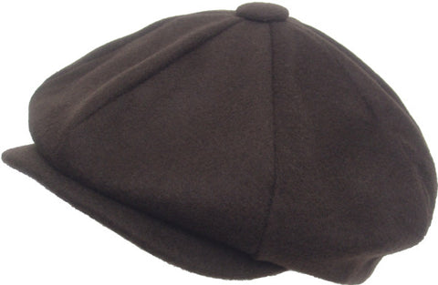 Broner Made in USA 8/4 Apple Jack Cap 100% Wool Newsboy