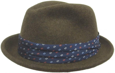 "Christys Crown ""Grant"" Wool Felt Fedora"